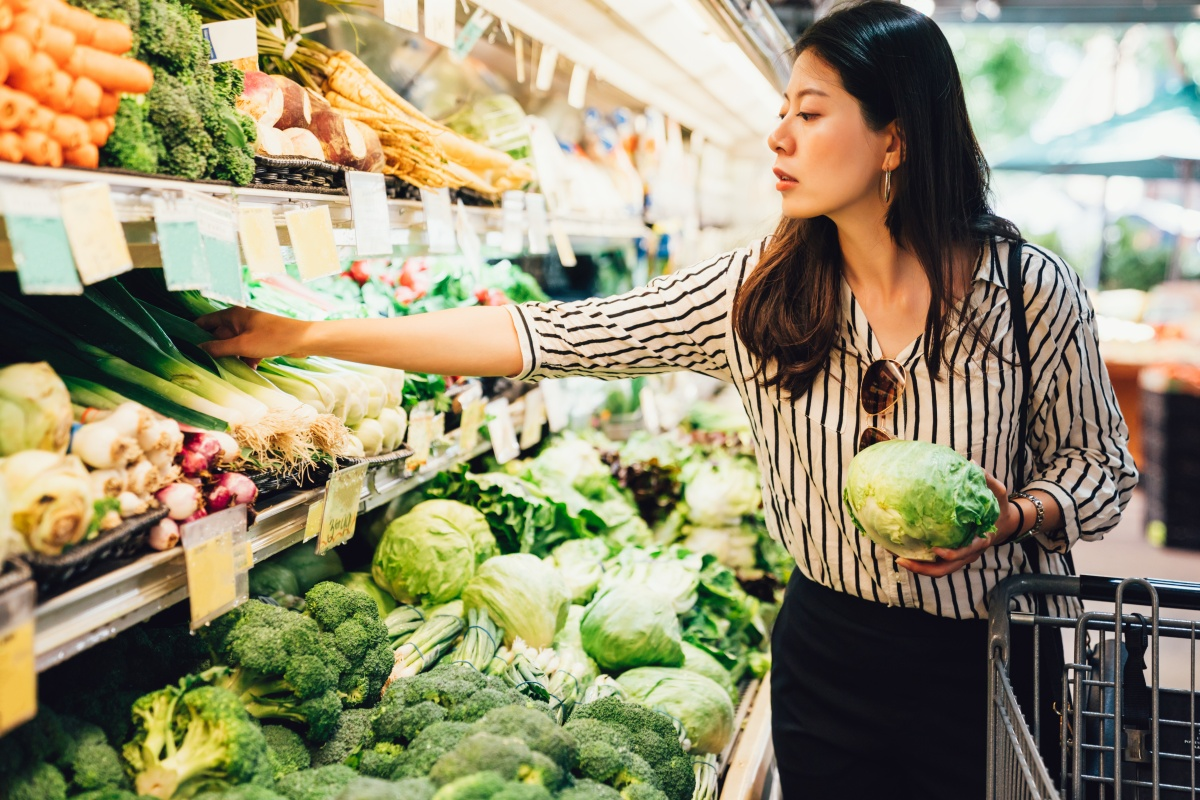 Grocery Shopping with Food Safety in Mind
